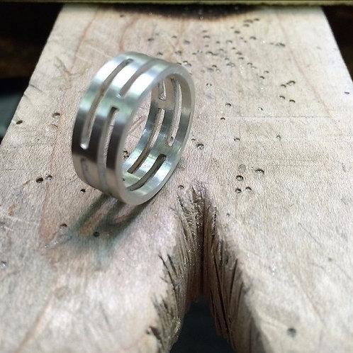 """Silver Ring """"Unisex"""""""