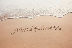 mindfulness concept, mindful living, tex