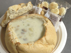 Dino's Seafood: Clam Chowder