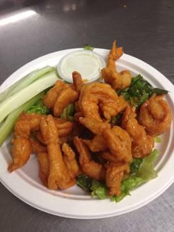 Dino's Seafood: Buffalo Fried Shrimp