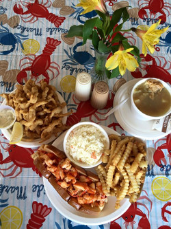 Dino's Seafood: Lunch for Two