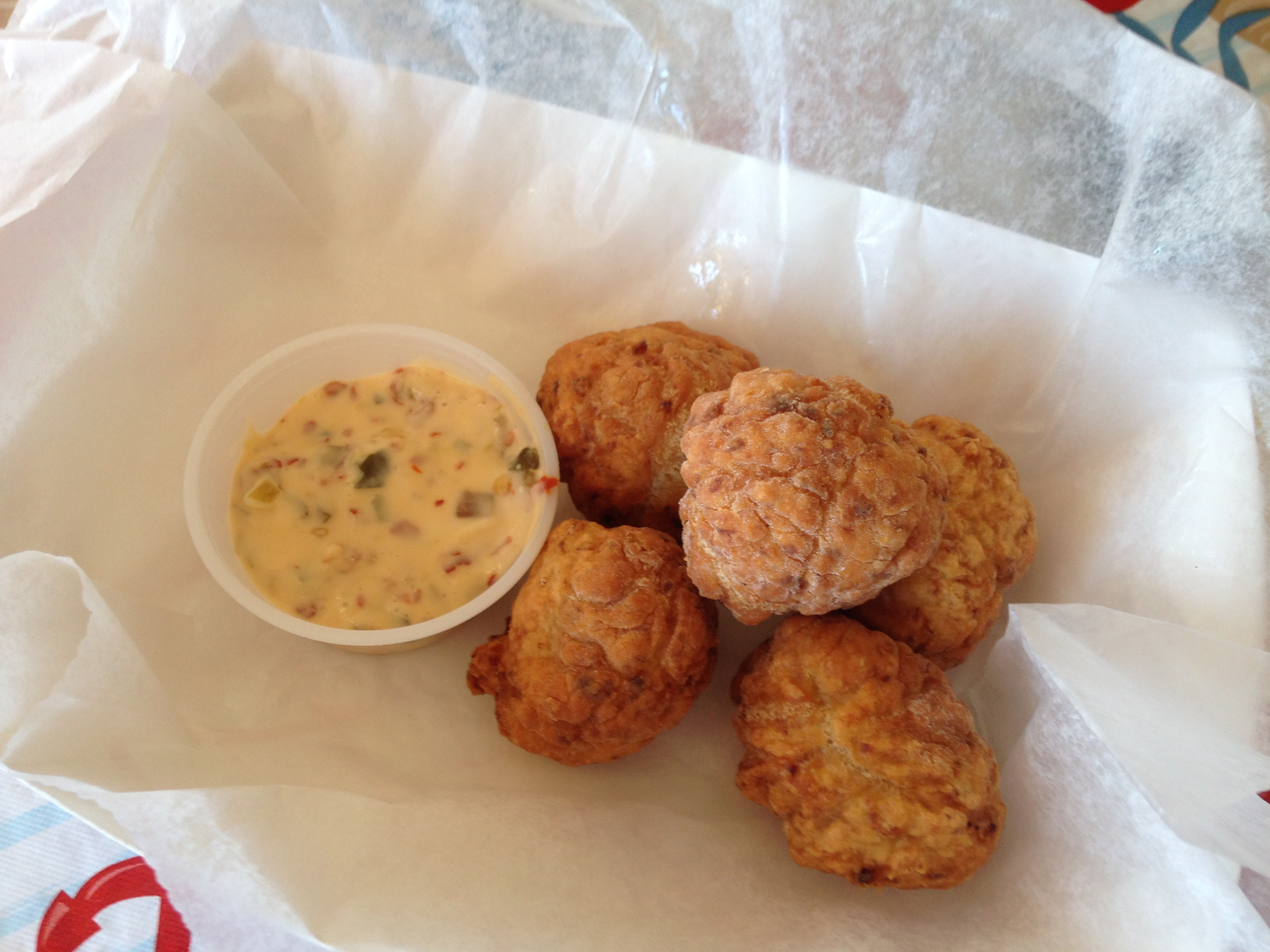 Dino's Seafood: Clam Fritters