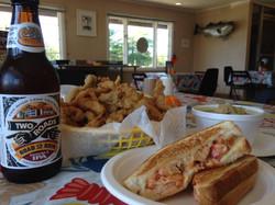 Dino's Seafood: Two Roads IPA