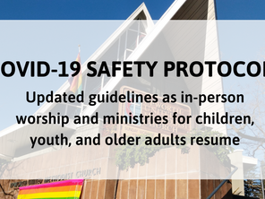 Updated Guidance for In-Person Worship & Gatherings