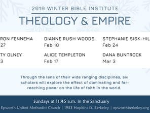 Winter Bible Institute Returns January 27