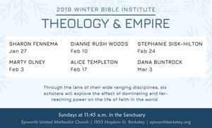 2019 Winter Bible Institute headliners