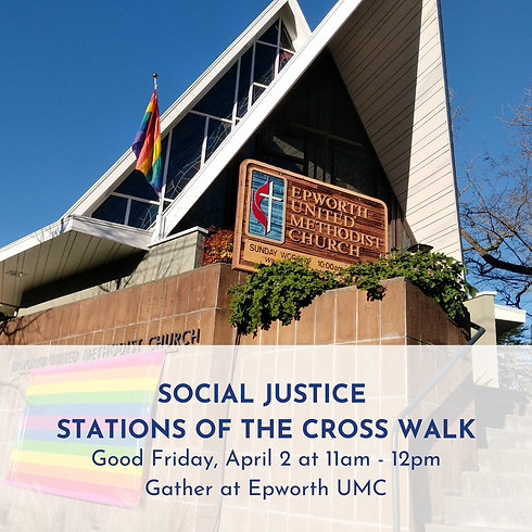 Social Justice Stations of the Cross Walk