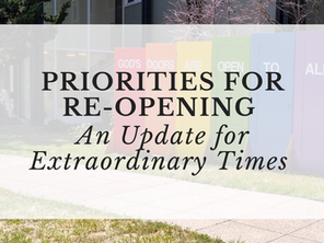 Survey on priorities for reopening and in-person gatherings