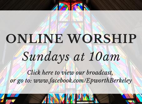 Online Worship - August 23, 2020