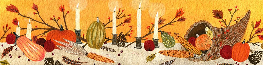 Harvest of Gifts Banner Image cornucopia