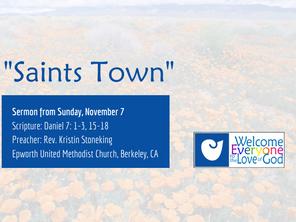 """""""Saints Town"""""""