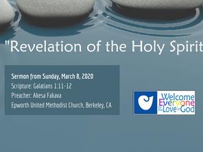"""Revelation of the Holy Spirit"" Sermon by Akesa Fakava"