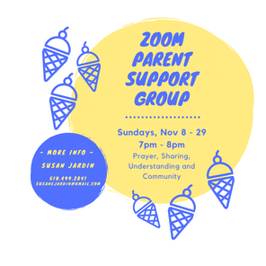 4-week Parent Support Group on Zoom