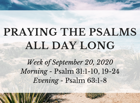 Praying the Psalms All Day Long