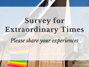 Epworth Extraordinary Times - Survey