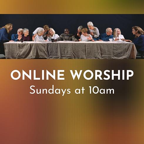 Online Worship - February 21