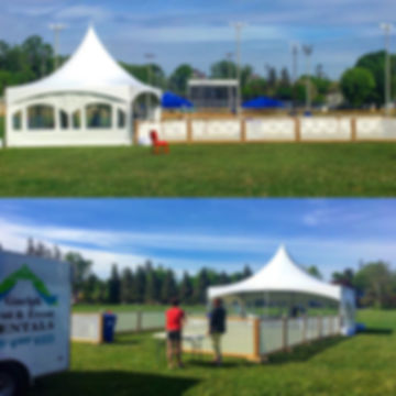 Guelph Tents an Event Rentals have created custom fencing or rent