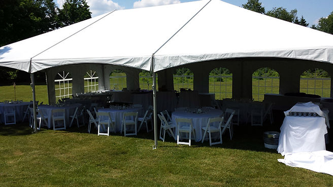 30x45 outdoor party tent for rent