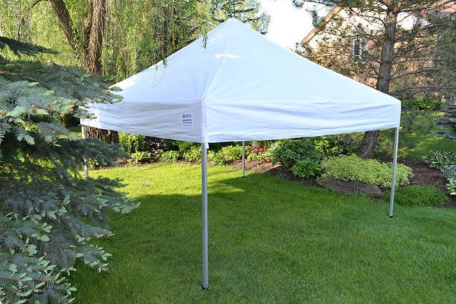 10x10 pop up tent rental