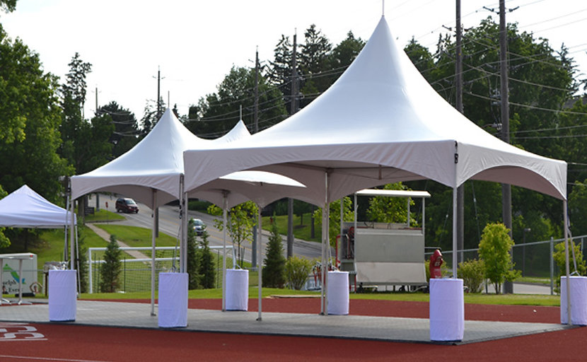 10x10 canopy tent rental from guelph tent and event rentals