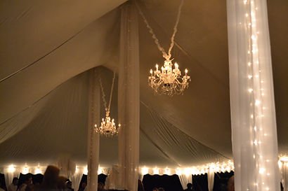 chandelier rentals for wedding and events, light rentals