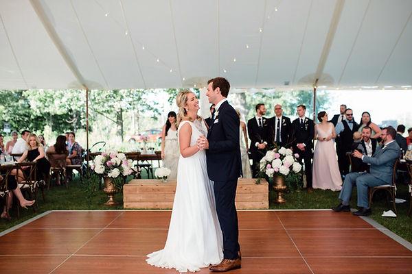 dance floor rental for wedding and events