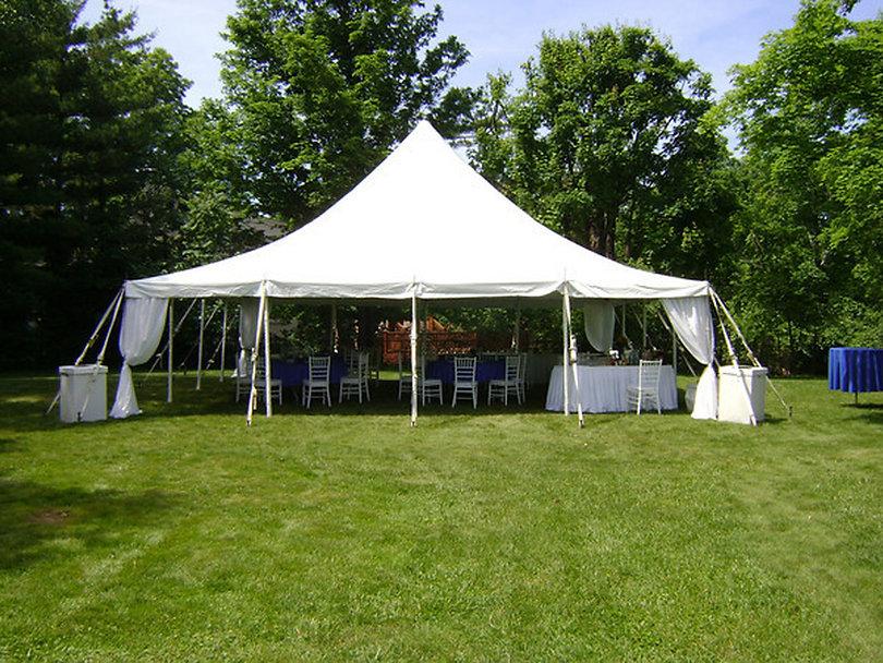 40x 40 tent rental