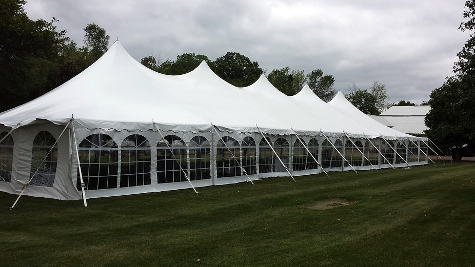 40 x 120 tent rental, large tent rental