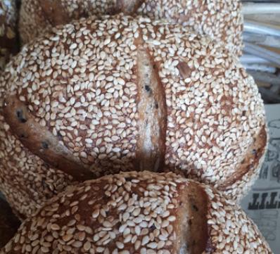 לחם  אגוזים מאפיית ברדלי אורן שמואלי