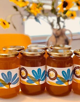 """דבש טבעי מפרחי בר מקומיים 0.5 ק""""ג"""