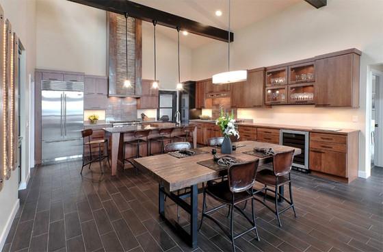 Inspiration: 22 Rustic Modern Kitchen Designs