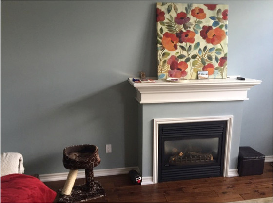 Help! My fireplace wall is a disaster!