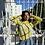Thumbnail: vintage yellow & white top