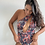 Thumbnail: leaves one shoulder swimsuit