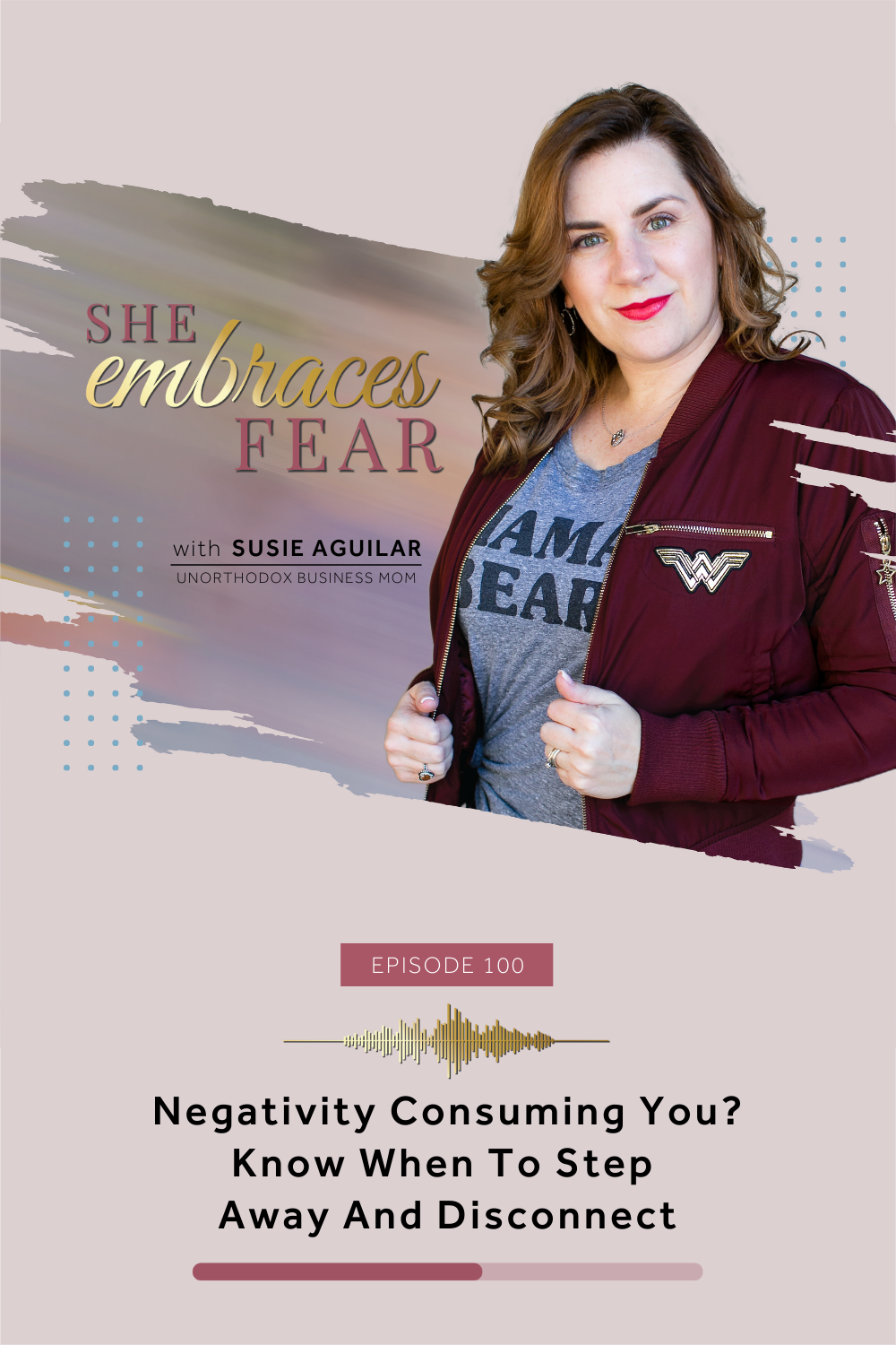 There are moments in which we need to realize we are doing ourselves a disservice and it's time to disconnect. I found myself consumed with negativity.