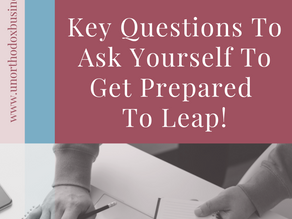 Frustrating Corporate J-O-B? Key Questions Before Leaping!