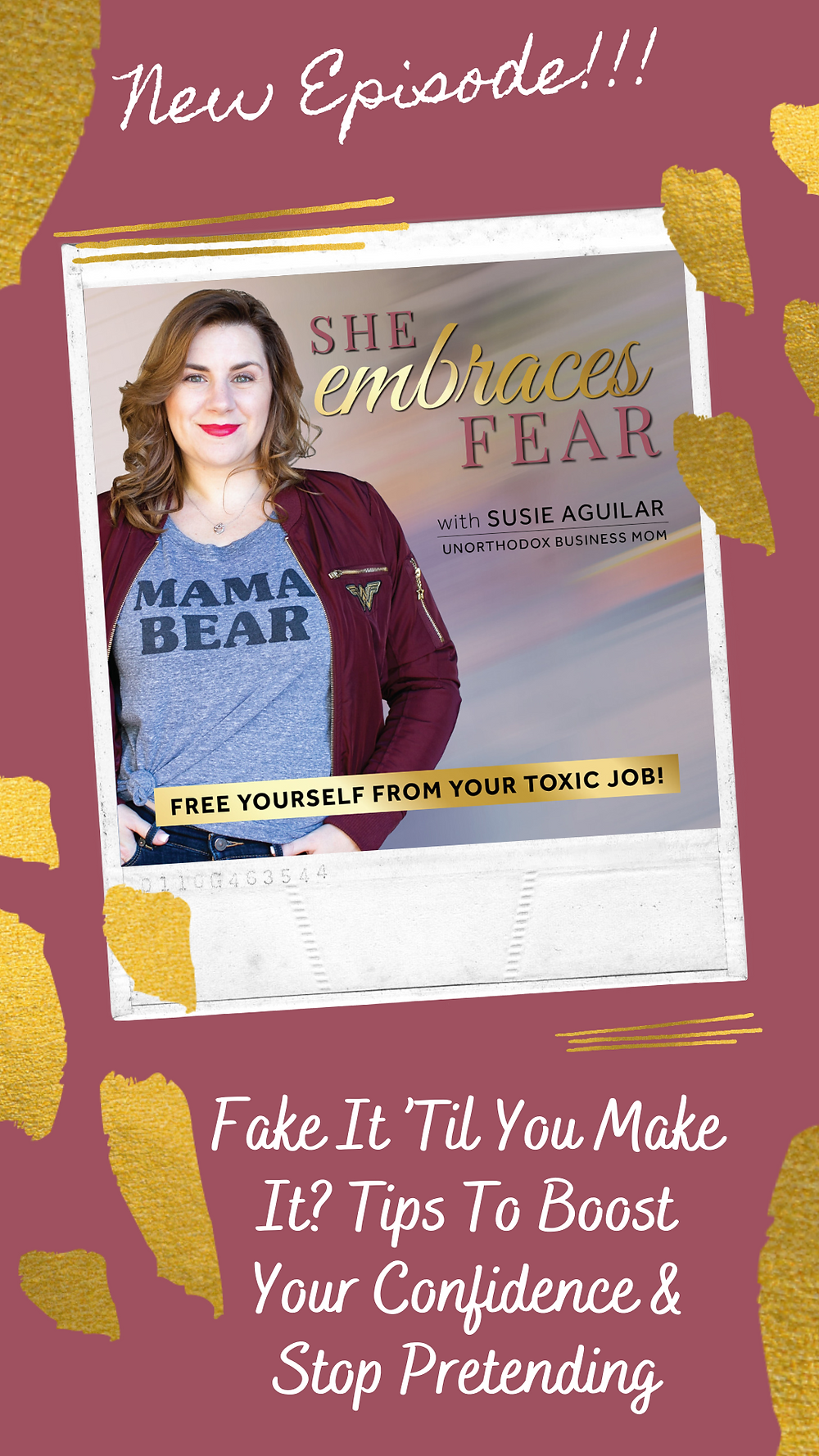 Your confidence low and hesitating on taking action? I give you ACTUAL strategies to implement to boost your confidence and help you STOP pretending!