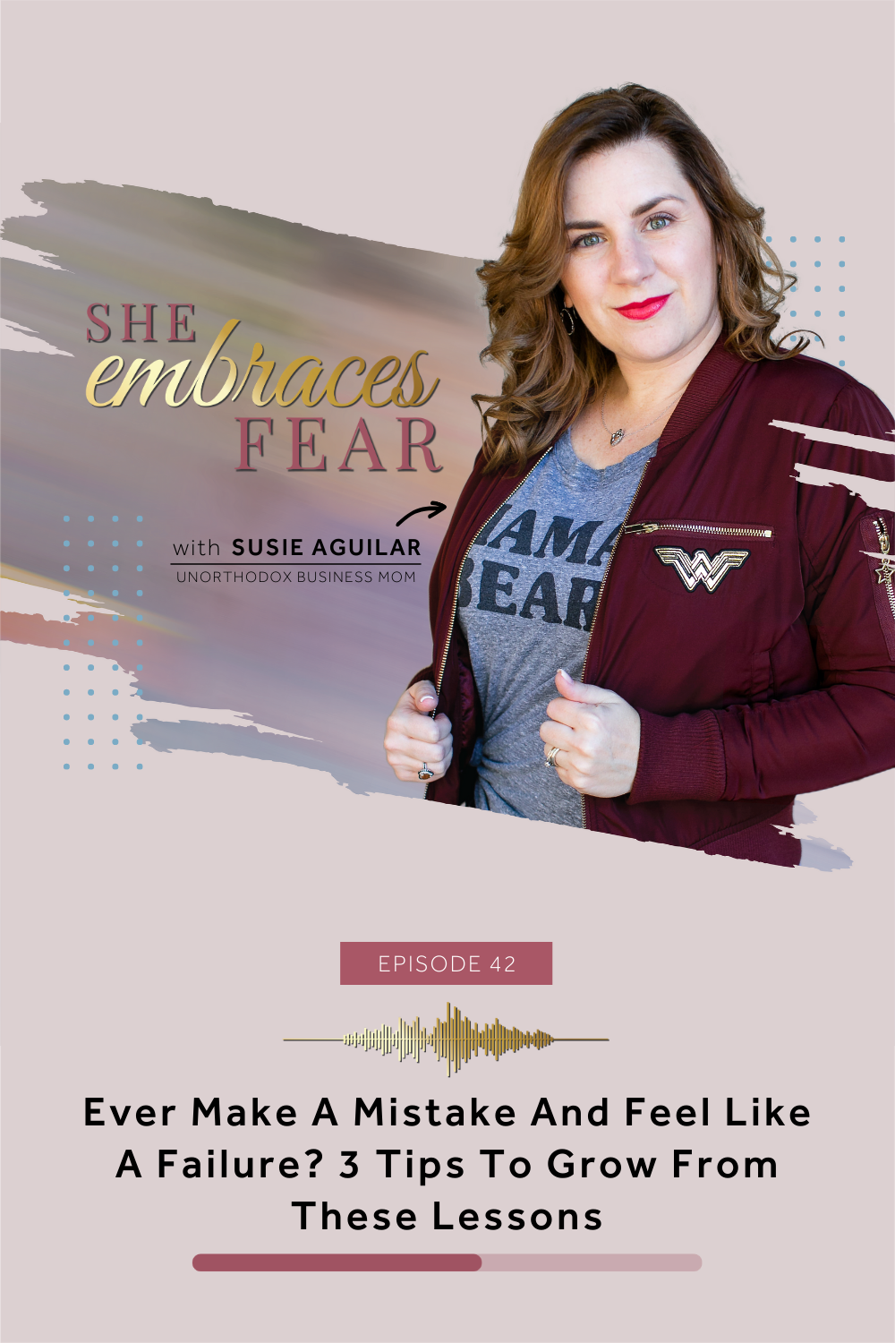 Ever felt like a failure because of a mistake? Then this episode is for you! My belief is that through the most challenging events, we have opportunity for growth.