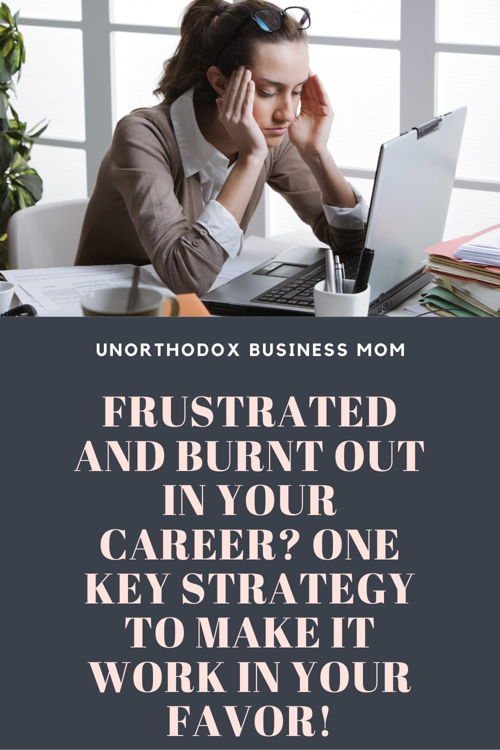 If you feeling burnt out and frustrated in your career, you may be thinking it's time to try something new. I share 1 strategy to help you change your perspective.