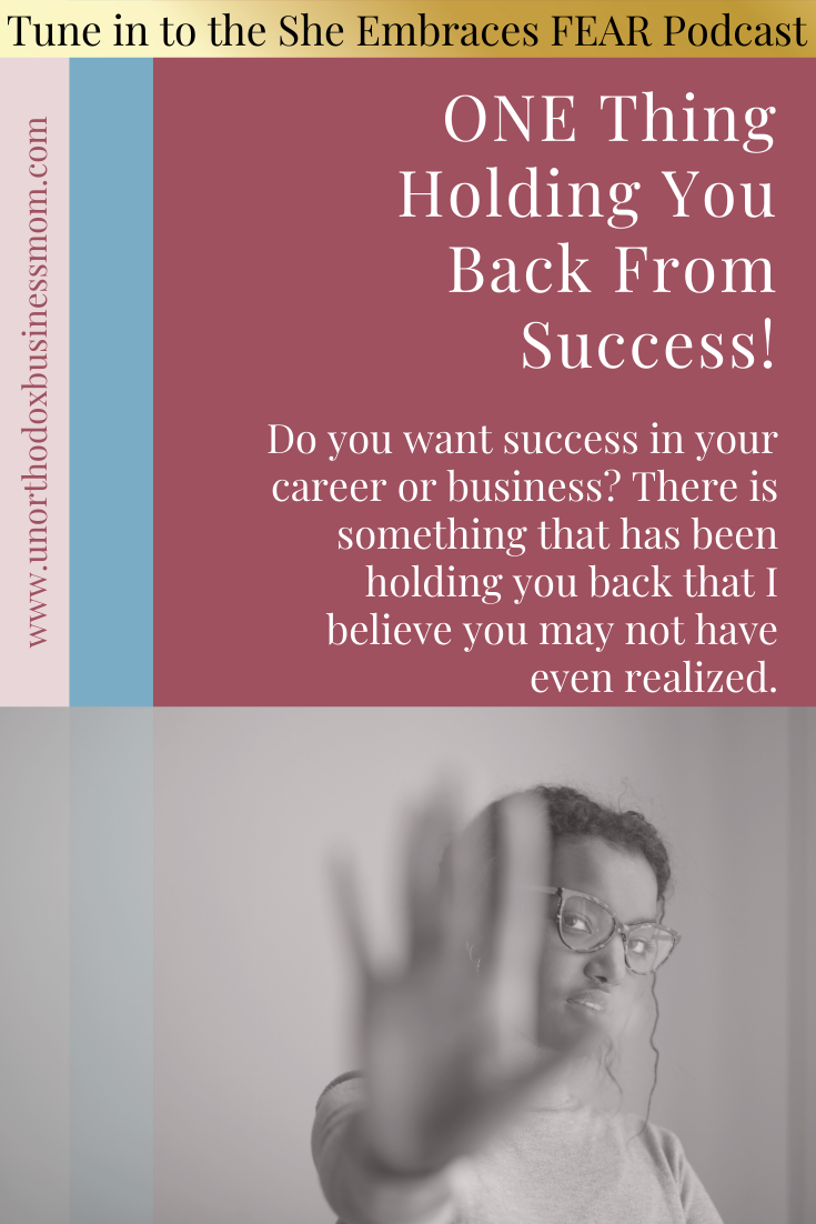 Do you want success in your career or business? There is something that has been holding you back that I believe you may not have even realized.