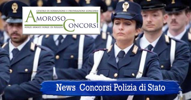 Calendario Concorso Polizia.Amoroso Concorsi Concorso 654 Agenti Pds News
