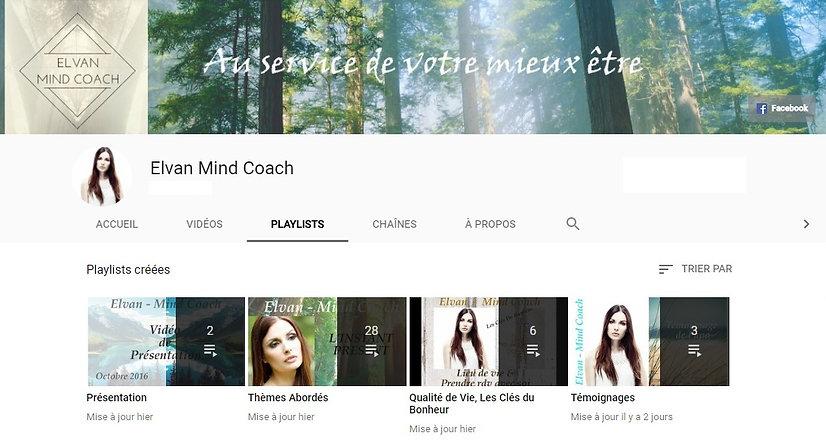 Elvan Mind Coach, coach de vie, youtube, vidéo, site, consultations, life coach, elvan, Mieux être,