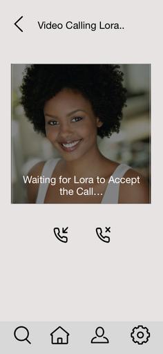 Accept Call Screen