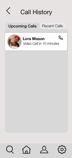 Call Now Screen