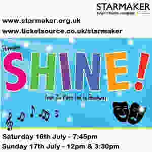 Starmaker Shine at the Whitty Theatre in Wokingham
