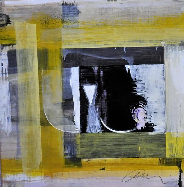 olio su carta cm. 50x50