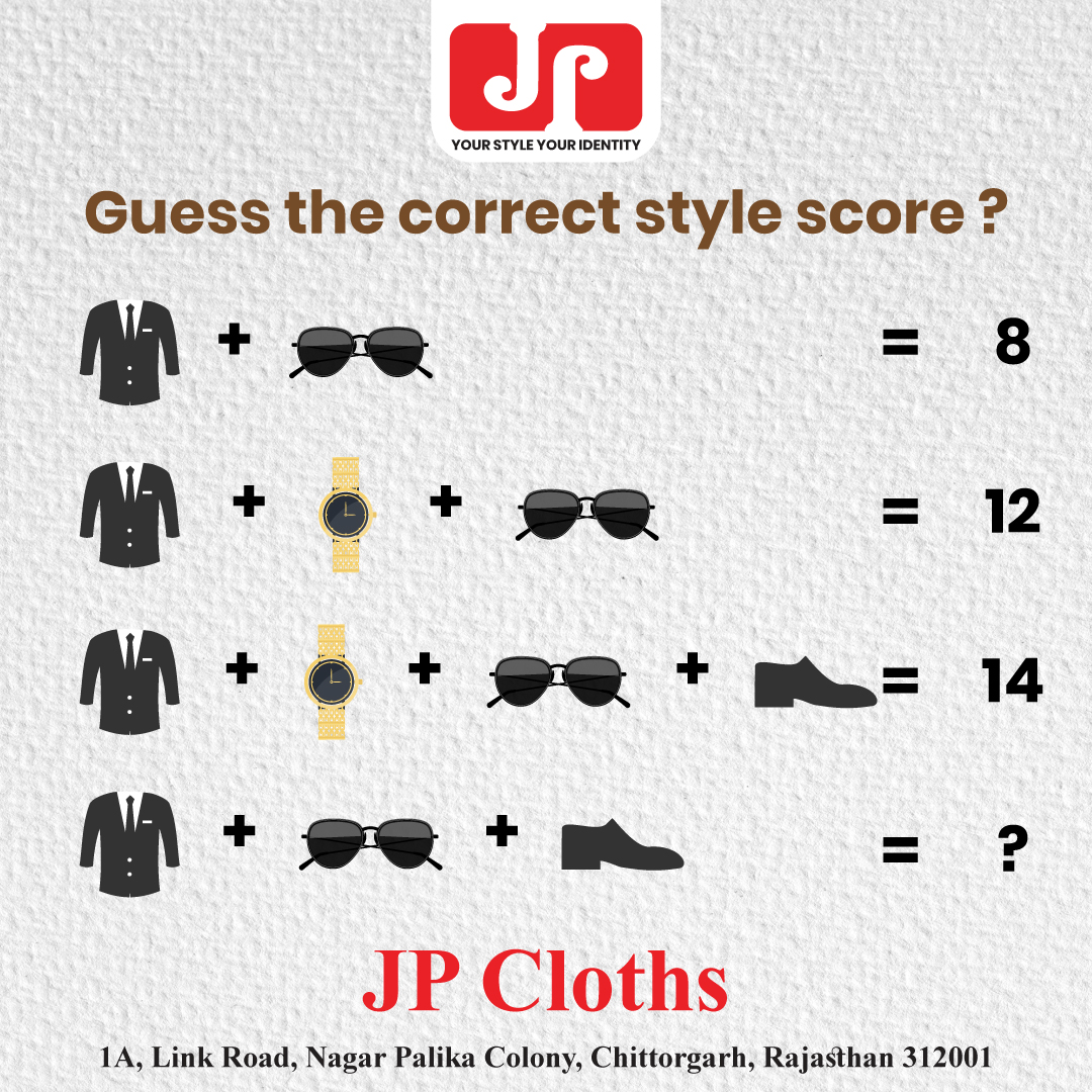 Creatives for JP Cloth