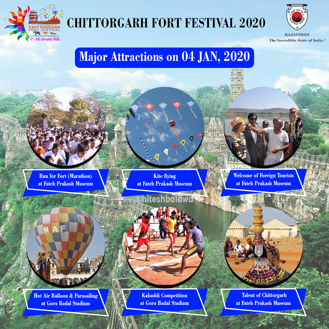 Chittorgarh Fort Festival Activities Post