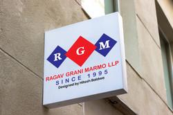 Ragav Grani Marmo LLP Logo Designb