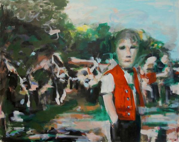 me, myself & I, Öl auf Leinwand, 2013, 80 x 100 cm